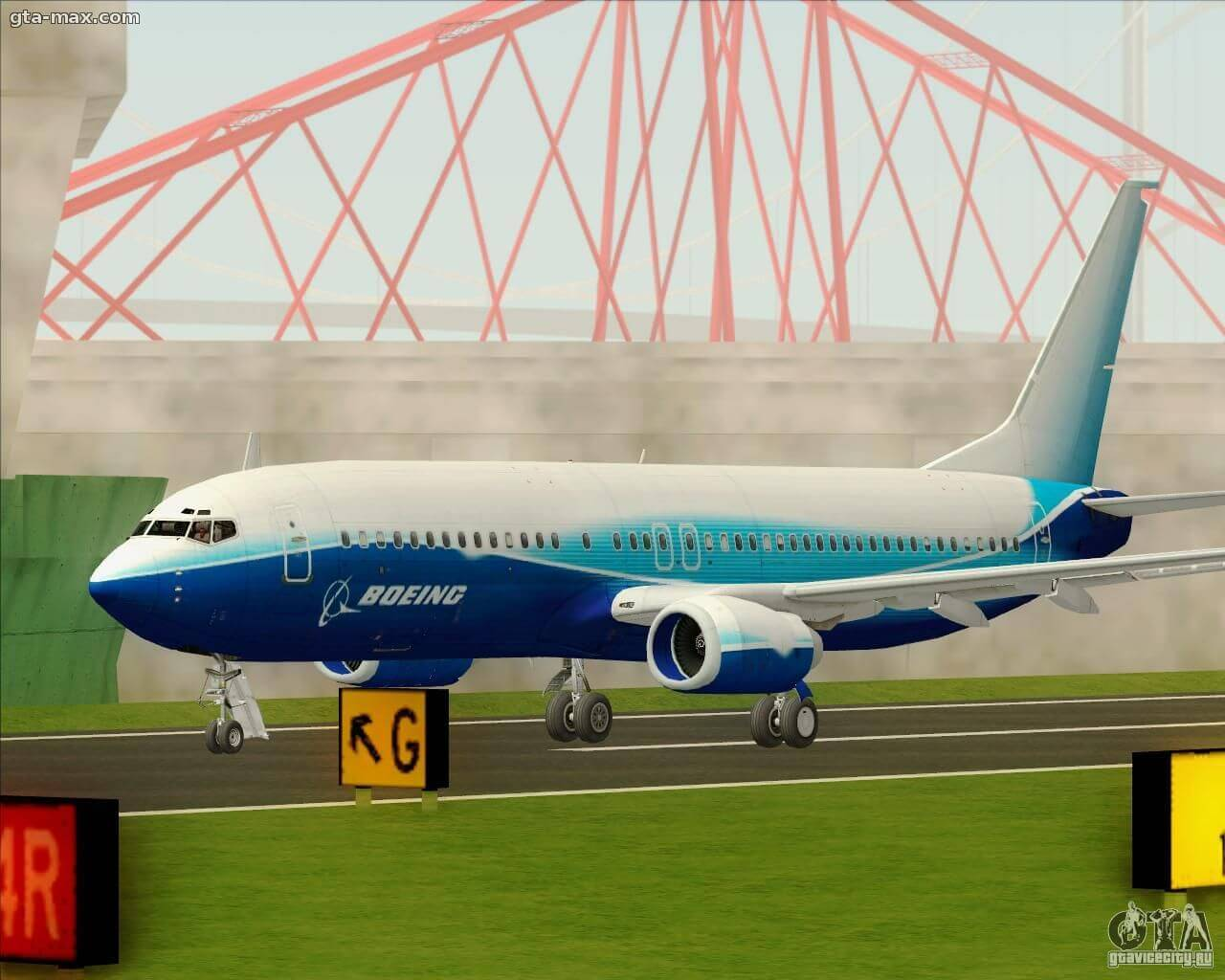 Boeing 737-800 House Colors