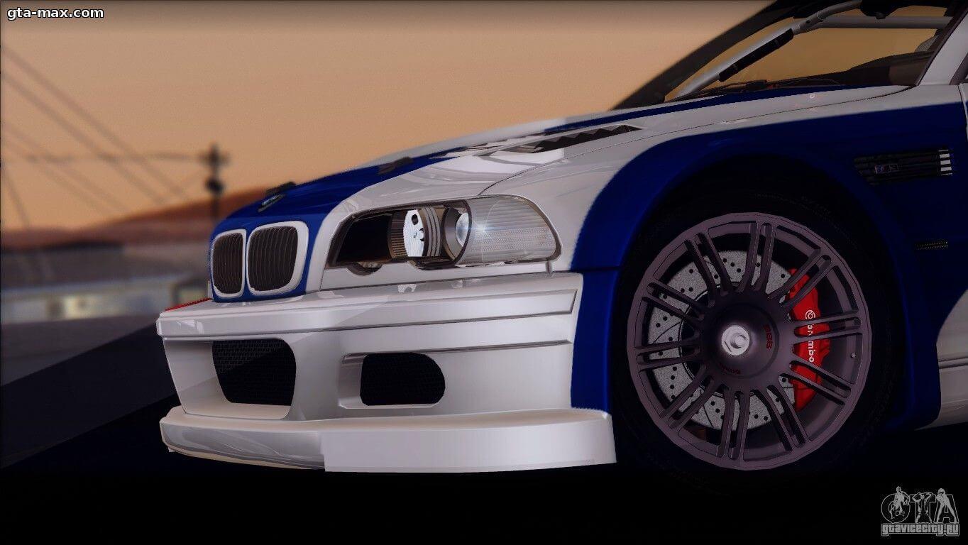BMW M3 E46 GTR про GTA San Andreas