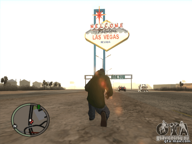 Надпись Welcome to Las Vegas для GTA San Andreas