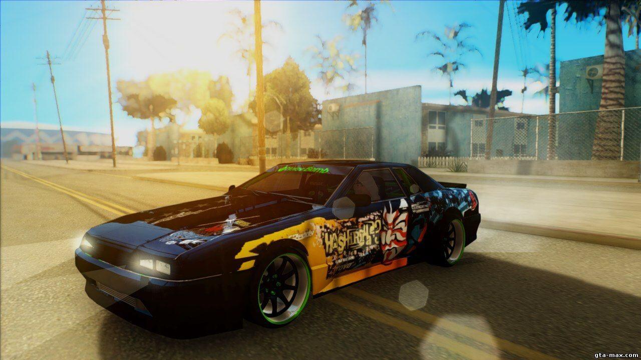 Релиз японского винила для Elegy во GTA San Andreas