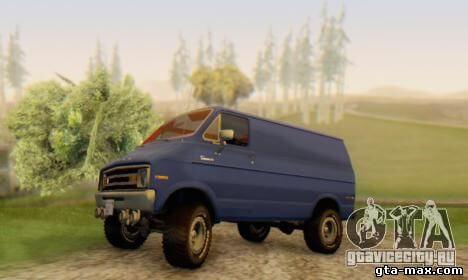 Dodge Tradesman Van 0976 про GTA San Andreas