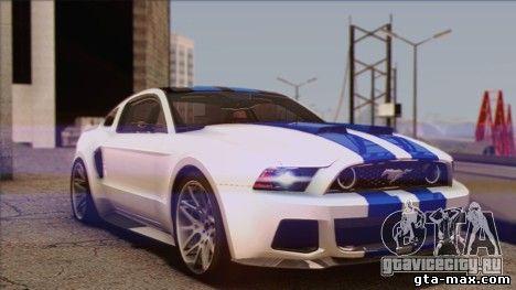 Ford Mustang GT 0012 чтобы GTA San Andreas
