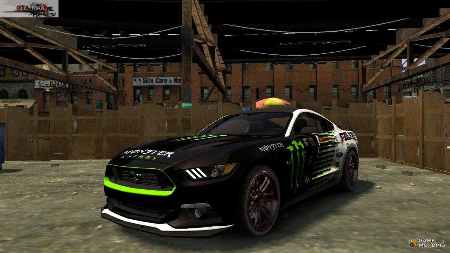 Ford Mustang GT 2015  для Grand Theft Auto 4