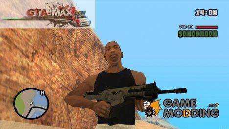 ARX-160 Assault Rifle from COD Ghosts для GTA San Andreas
