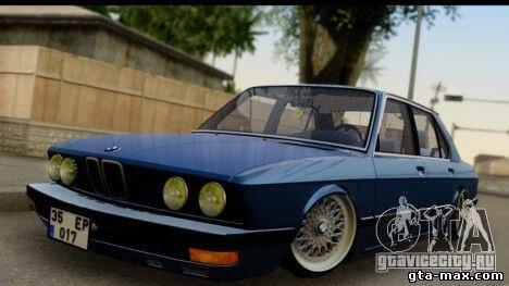 BMW M5 E28 для того GTA San Andreas