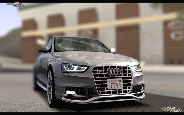 Audi S4 Avant 0013 ради GTA San Andreas