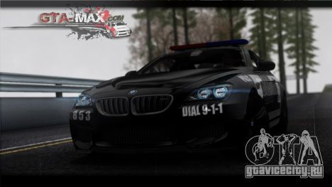 BMW M6 Coupe Redview Police