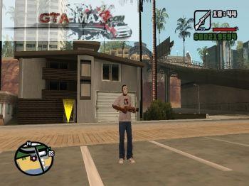 Винтовка Снайпера, одеяло изо Dota 0 про GTA San Andreas