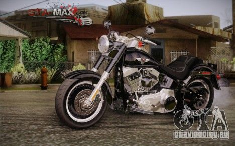 Harley-Davidson Fat Boy Lo 2010 для GTA San Andreas