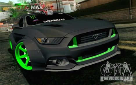 Ford Mustang 0015 Monster Edition ради GTA San Andreas