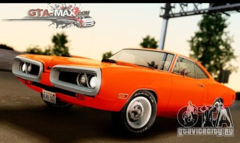 Dodge Coronet Super Bee 1970 для GTA San Andreas