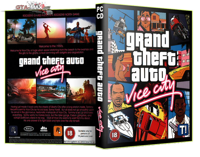Скачать  GTA Vice City (2003) / ГТА Вай Сити (скачать через торрент)
