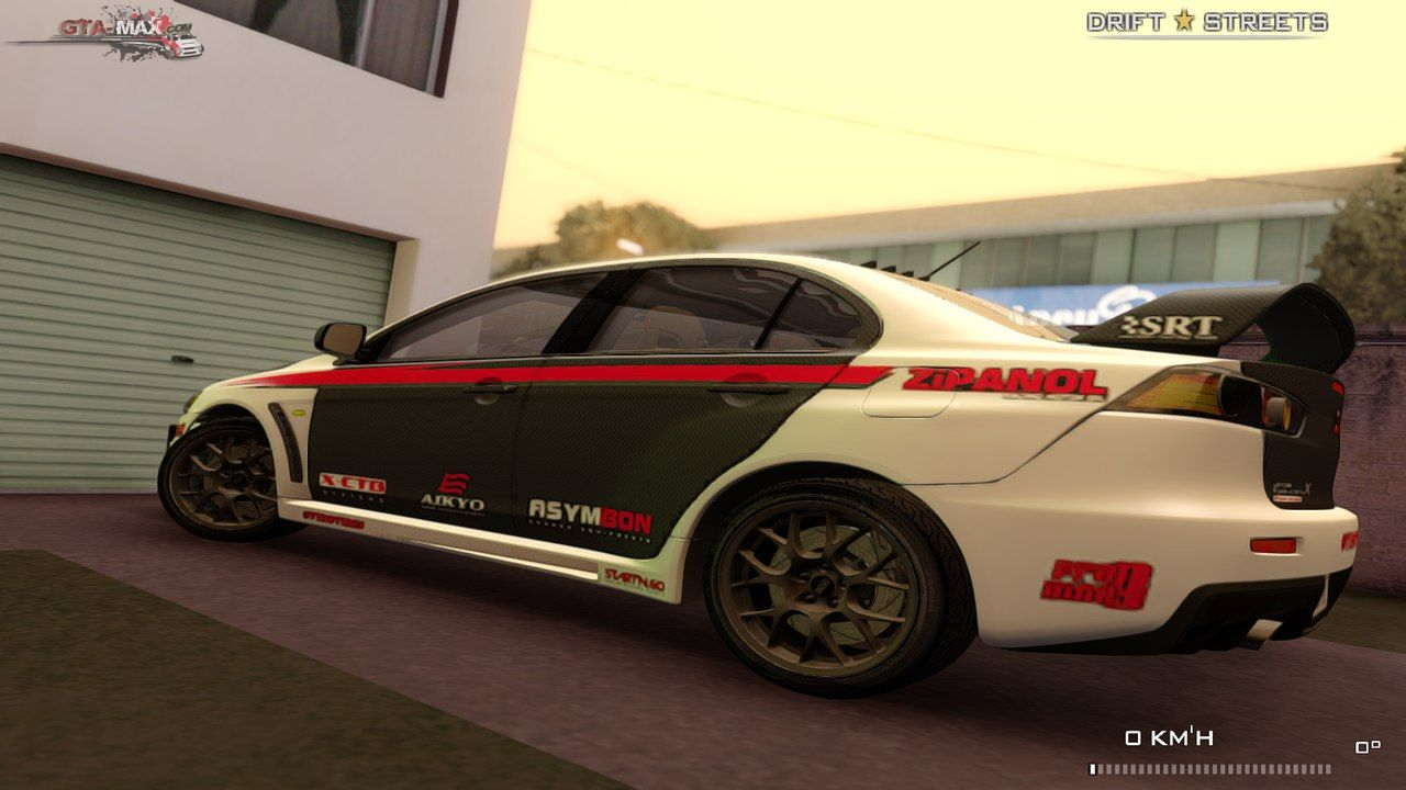 Mitsubishi Lancer Evolution X Final Edition для GTA San Andreas