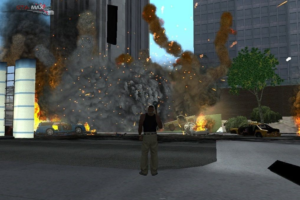 Overdose Effects v 1.4 для GTA San Andreas