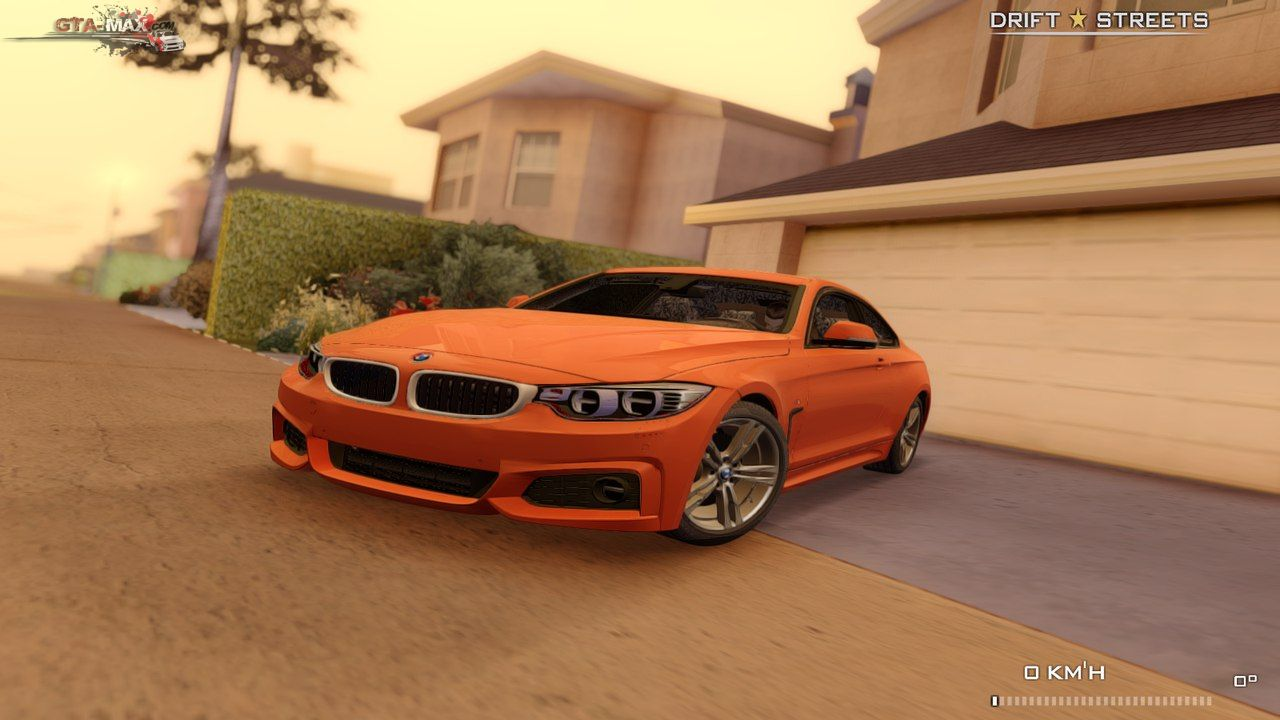 BMW 4 Series Coupe M Sport для GTA San Andreas
