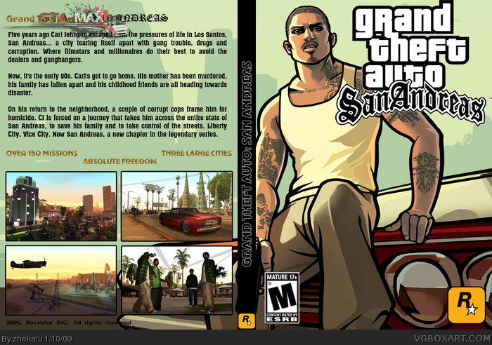 GTA San Andreas Flash Edition