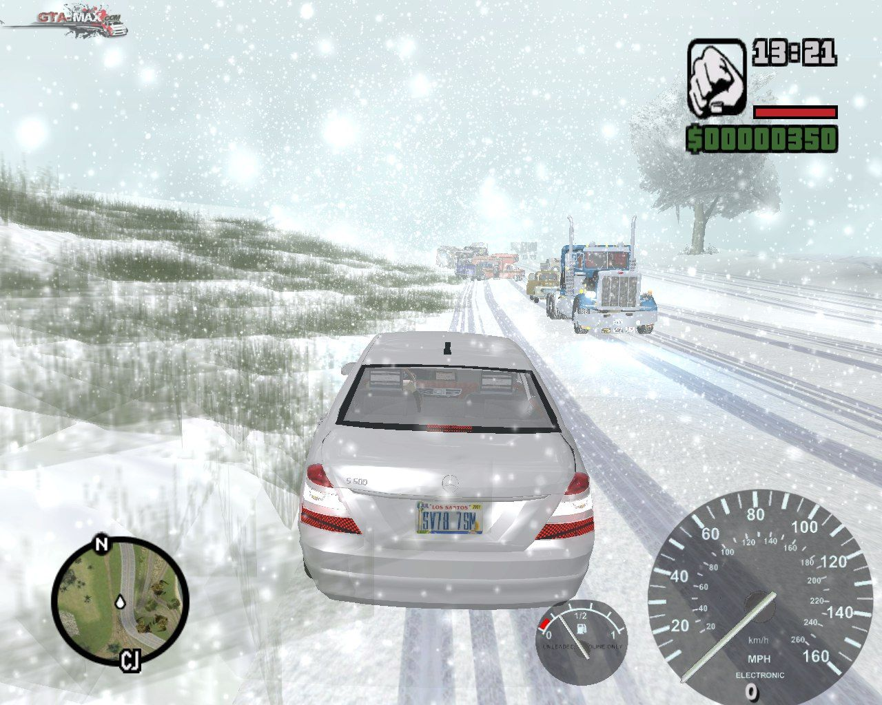 Gand theft auto 3: frosted winter (ultimate winter mod) для gta 3.