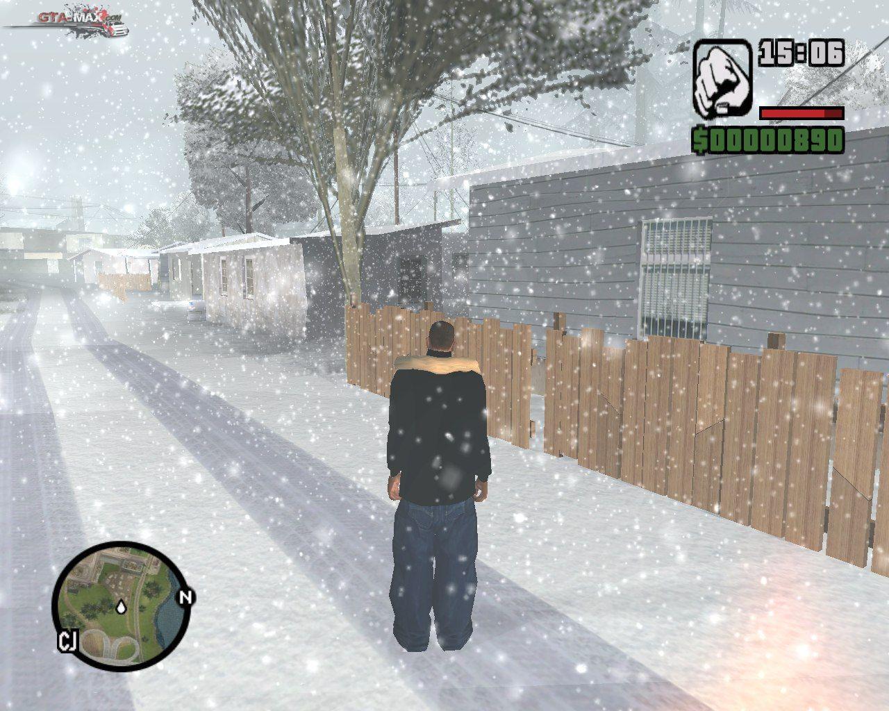 Gta san andreas наступила зима (2009) для gta san andreas.