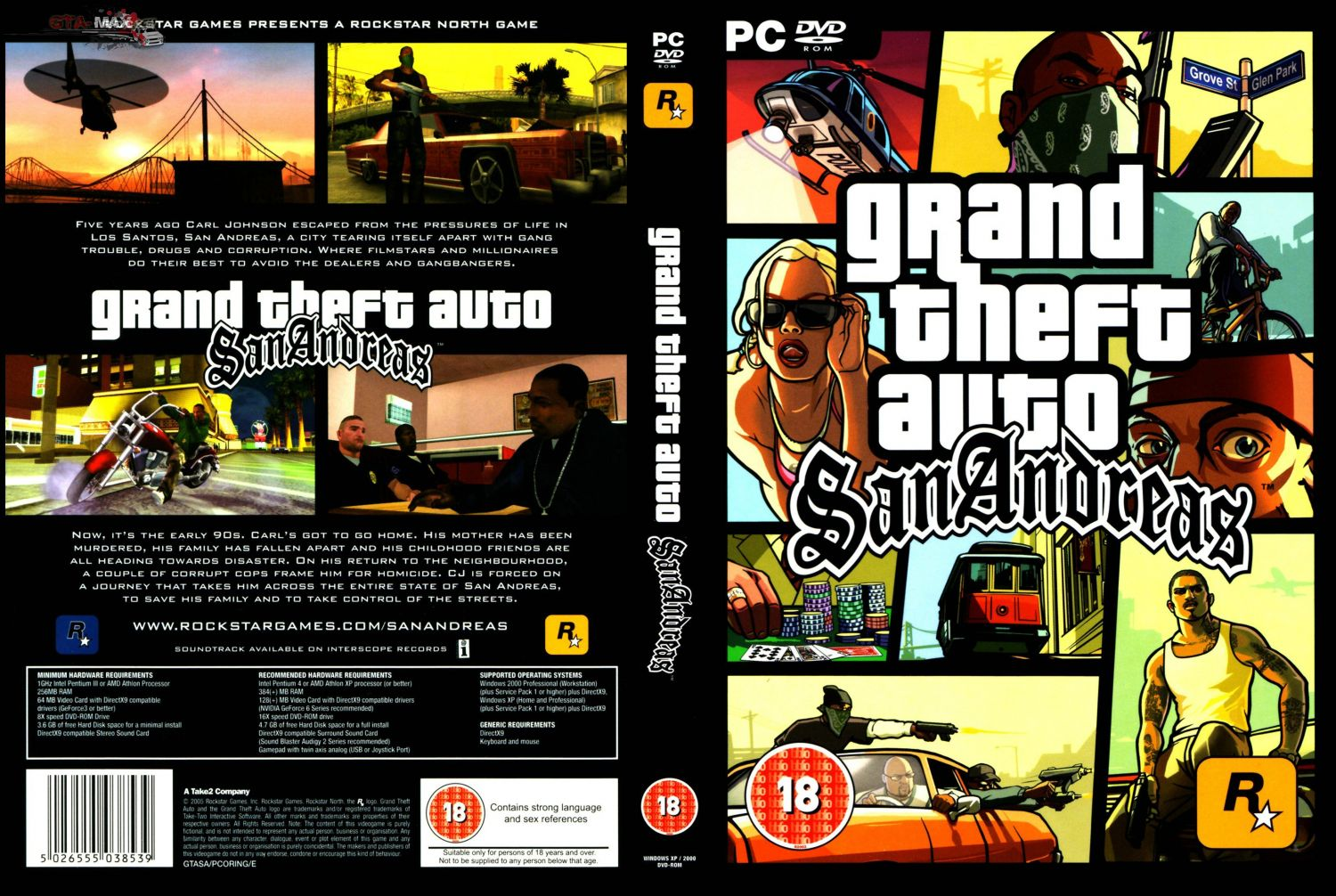 Скачать Grand Theft Auto San Andreas - Зомби Апокалипсис через торрент