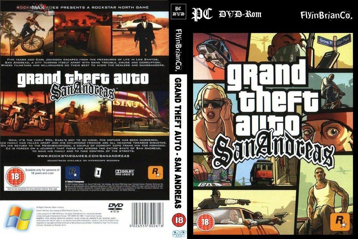 Скачать Grand Theft Auto San Andreas с Русскими машинами