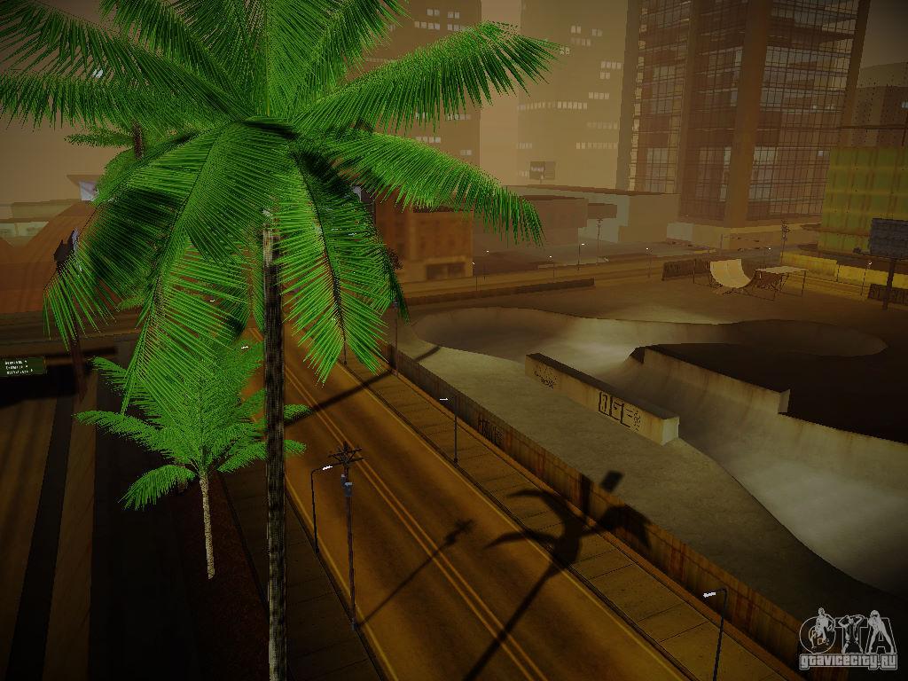 ENBSeries для слабых для GTA San Andreas