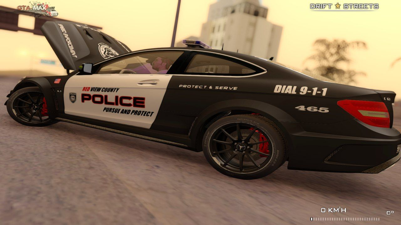 Mercedes-Benz C63 AMG Police